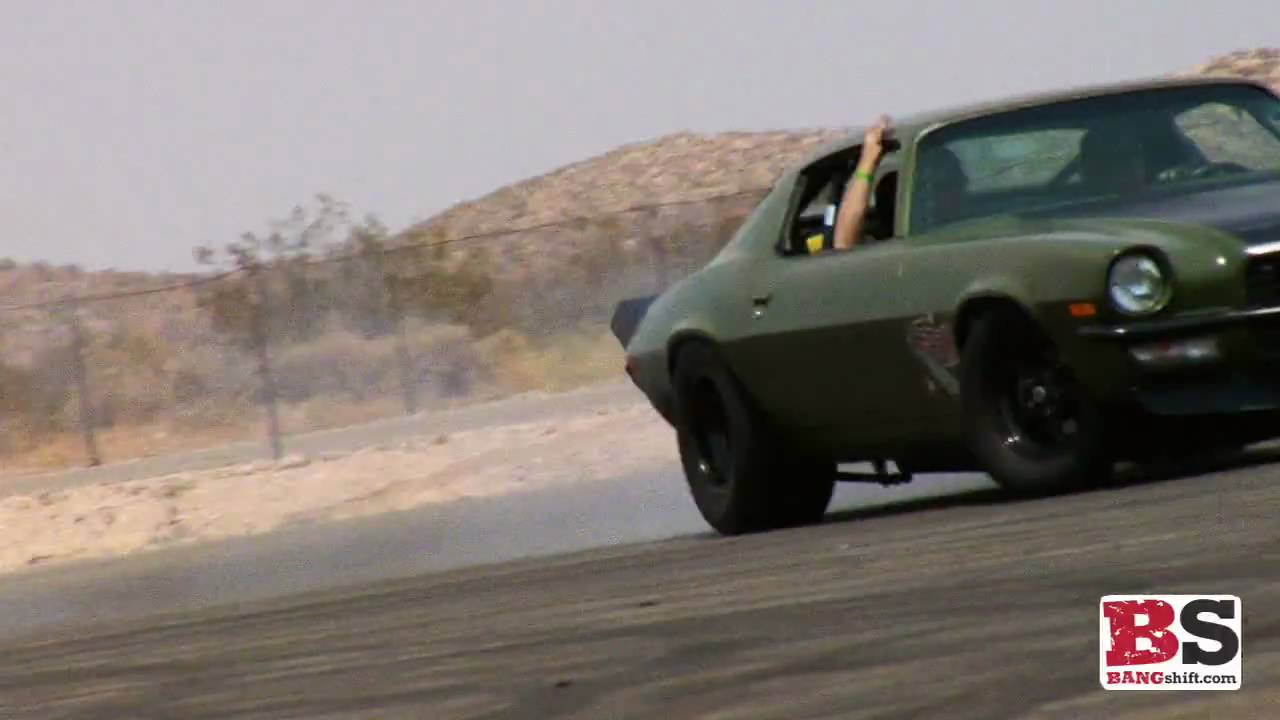 Fast and Furious 4: F-Bomb (Green '70 Camaro) Burnouts HD ...