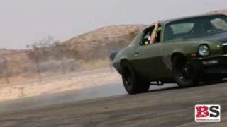 Fast and Furious 4: F-Bomb (Green '70 Camaro) Burnouts HD