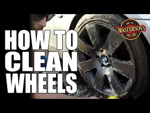 How To Clean Wheels & Tires Like a Pro! - Auto Detailing Tips & Tricks - BMW Brake Dust