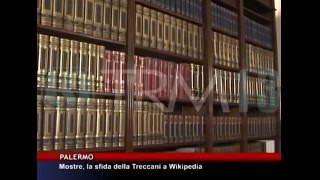 Mostre, la sfida delle Treccani a Wikipedia [TgMed 19/12/2015]