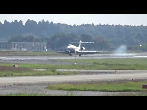 Qatar Executive / Gulfstream G650[A7-CGC] landing!