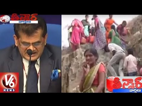 Water Issue To Decide Elections In Future : NITI Aayog CEO Amitabh Kant | Teenmaar News | V6 News