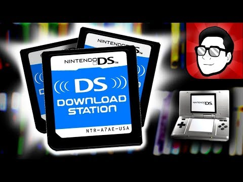 DS Download Station Cartridges - Complete Collection! | Nintendrew