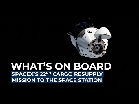 SpaceX's CRS-22 Mission to the Space Station: What's On Board