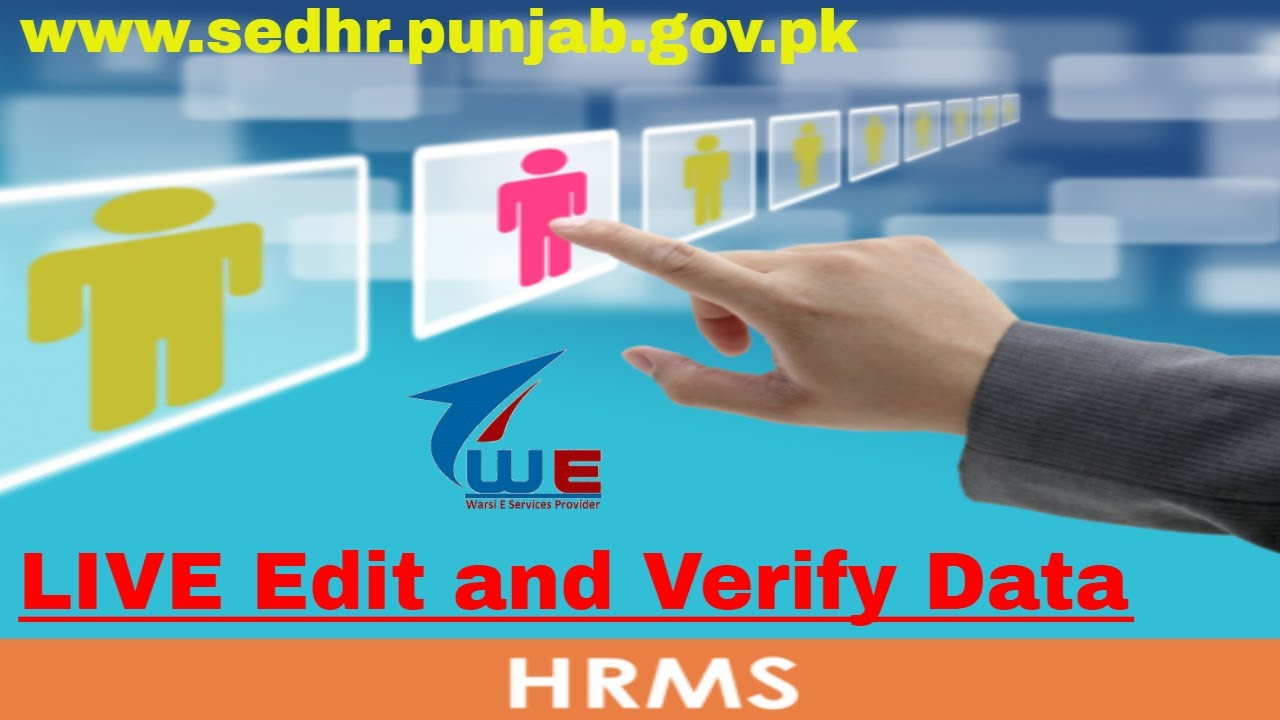 Hrms Login How Add Or Edit Data On Hrms School Education