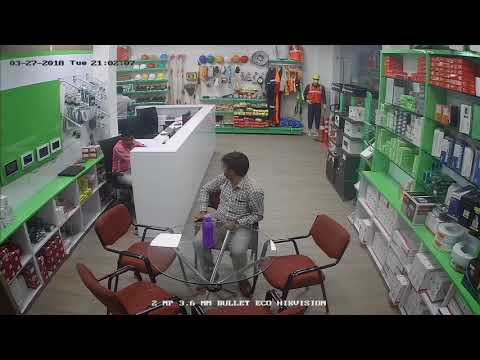 Hikvision  DS-2CE5AD0T-IRPF ECO 2MP (1080P) Night Vision Dome Camera