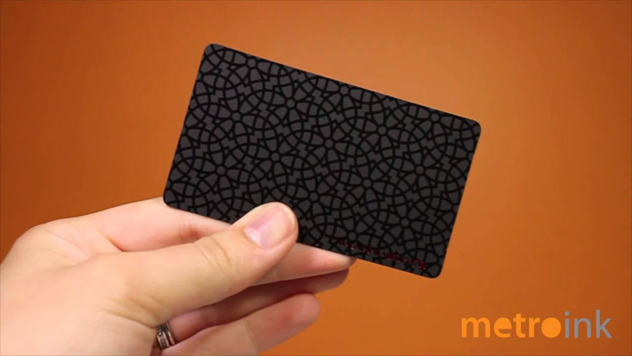 Metroink 22pt suede business card with spot uv and red foil youtube metroink 22pt suede business card with spot uv and red foil colourmoves
