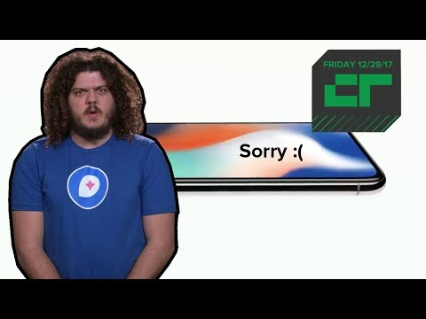 Apple Apologizes for Slowing Down iPhones | Crunch Report