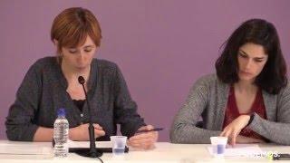 Presentación de actividades con motivo del Día Internacional de la Mujer