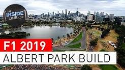 ALBERT PARK: 2019 TRACK BUILD