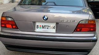 BMW 750 IL du film 007 !