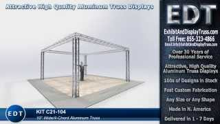 Truss Assembly Demo Video Trade Show Truss Church Stage Display