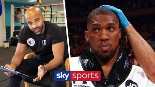 Analysing Anthony Joshua's body language moments before his fight with Andy Ruiz Jr | Dave Coldwell