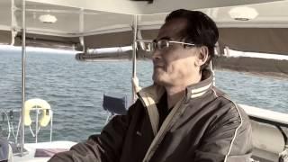 搭豪華遊艇從安平港出海釣魚
