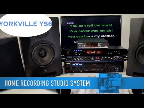 Karaoke System | Home Recording Studio | Home Entertainment Systems | Free Karaoke Music
