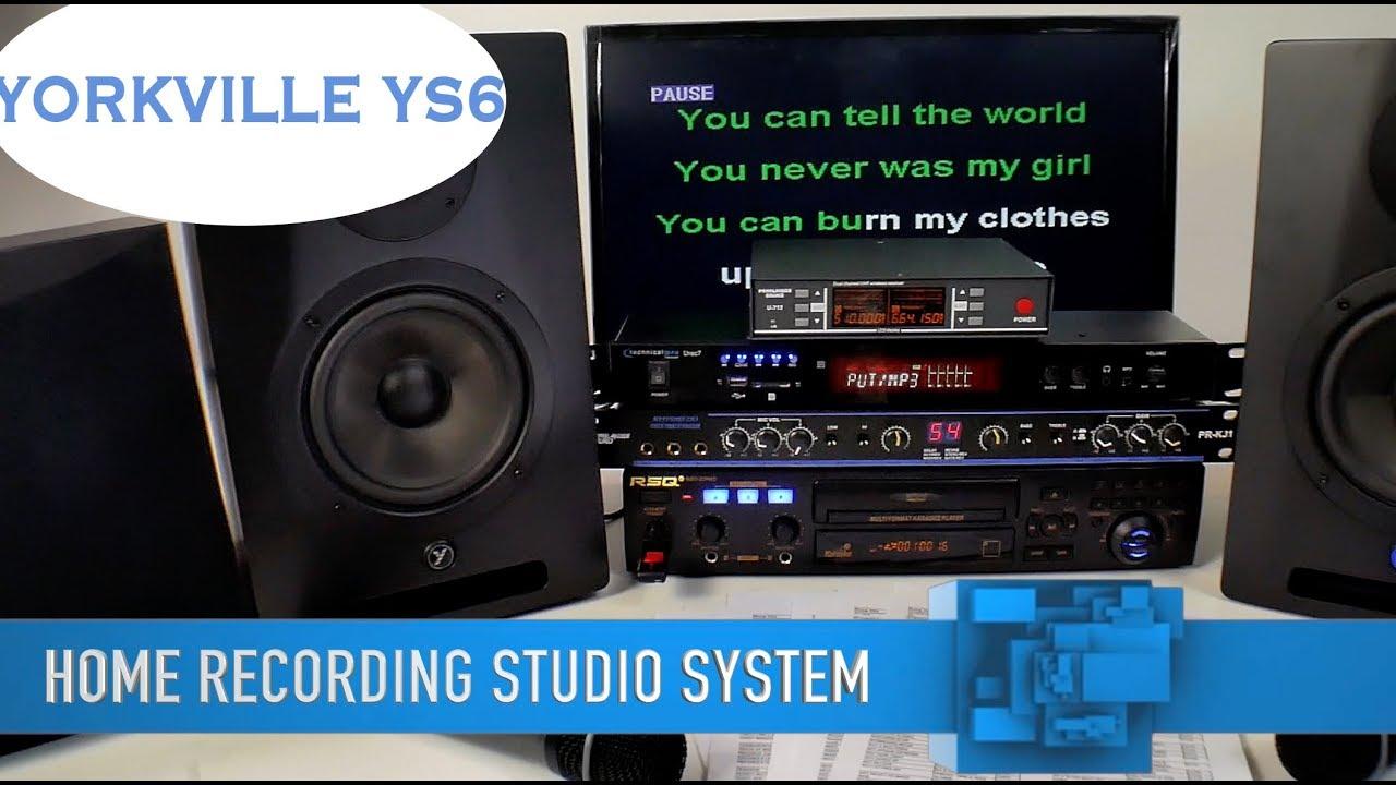 Karaoke System   Home Recording Studio   Home Karaoke System   Free Karaoke  Music   (800) 557-7464✅