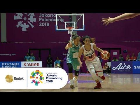 Highlights Bola Basket Putri Indonesia Vs Kazakhstan -  Penyisihan | Asian Games 2018 20/08/18