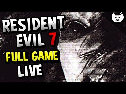 Resident Evil 7 FULL GAME MARATHON - ( Resident Evil 7 Gameplay Livestream #1 )