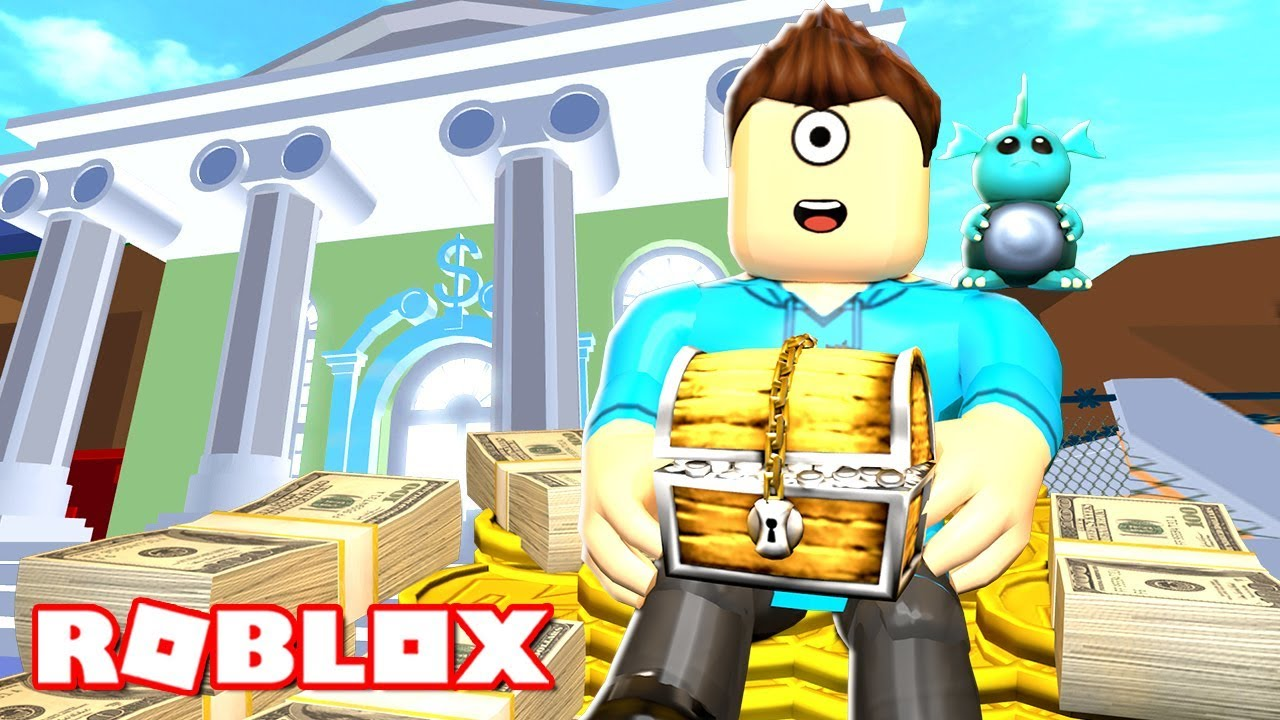Crazy Bank Heist Obby In Roblox Microguardian Youtube