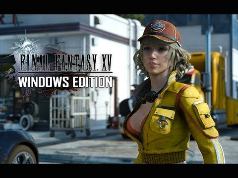 Final Fantasy 15 Windows Edition Gameplay Walkthrough – Chapter 1 (PC 60FPS Let's Play)