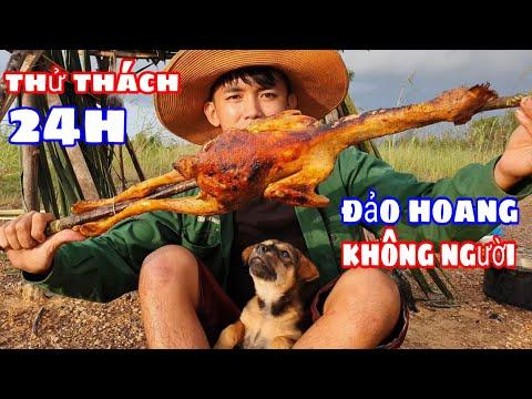 Thử Thách 24h Trên Đảo Hoang Không Người | Cùng Chú Chó Siêu Dễ Thương