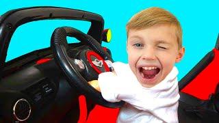 Мы едем на машине детская песенка | Песни для детей от Долгуников