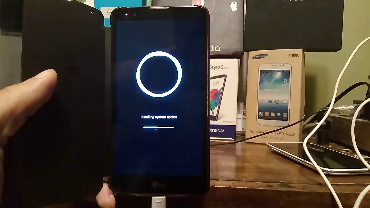 Lg stylo 4 android update