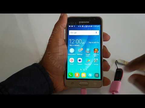 Samsung Galaxy J1 4G OTG Test With USB Pendrive | Samsung OTG Support Test 2018 | Samsung J1 4G