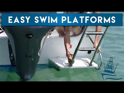 Boat Swim Platforms - YouTube