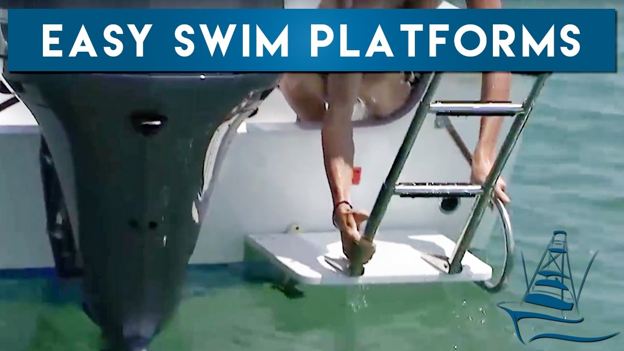 Boat Swim Platforms