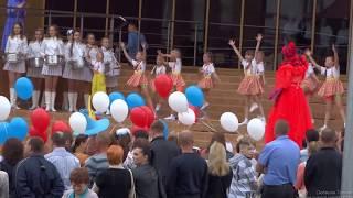 Парад первоклассников в Советске 1 сентября 2017 года