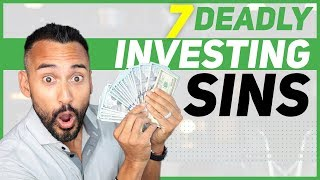 The 7 Deadly Sins of Investing (BEWARE ☠️)