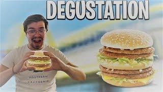 DEGUSTATION DU NOUVEAU MEGA MAC DE CHEZ MACDONALD