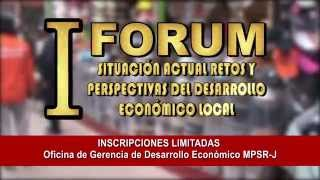 SITUACIÓN ACTUAL RETOS Y PERSPECTIVAS DEL DESARROLLO ECONÓMICO LOCAL - M.P.S.R.