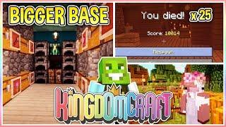 Improving my New Base!! | KingdomCraft Ep.14