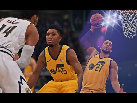 NBA LIVE 19 - WOW - Utah Jazz Vs Denver Nuggets | Donovan Mitchell