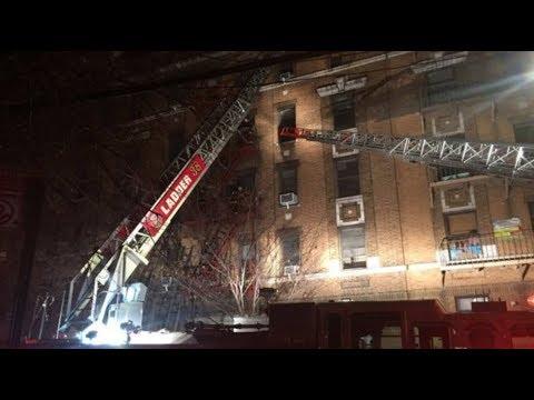 BREAKING NEWS! Bronx fire: Twelve dead in New York apartment block blaze