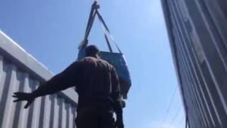 Γερανοί Θεσσαλονίκης 6977970947 Φόρτωση container