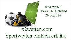 USA Deutschland WM Quoten Fussball Wetten