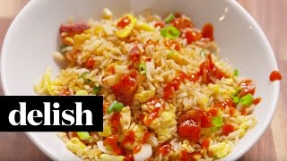 How To Make Breakfast Fried Rice | Delish