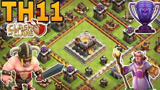 th11 trophy base 2018/coc th11 trophy pushing base 2018/anti 1 star/anti 2 star/clash of clan