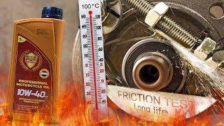 PMO 4T 10W40 Jak skutecznie olej chroni silnik? 100°C