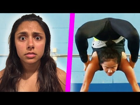 Women Try Extreme Contortion
