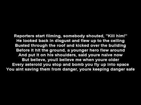 Lupe Fiasco - American Terrorist(Superheroes) Part 2 Lyrics