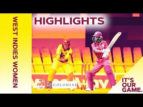 West Indies Women vs Australia Women | 2nd Colonial Medical Insurance ODI 2019 - Highlights