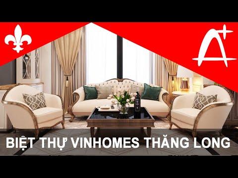Biệt thự song lập Long Khánh- Vinhomes Thăng Long, Hà Nội.