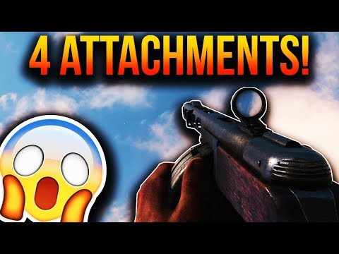 How To Use 4 ATTACHMENTS On ANY GUN In COD WWII!