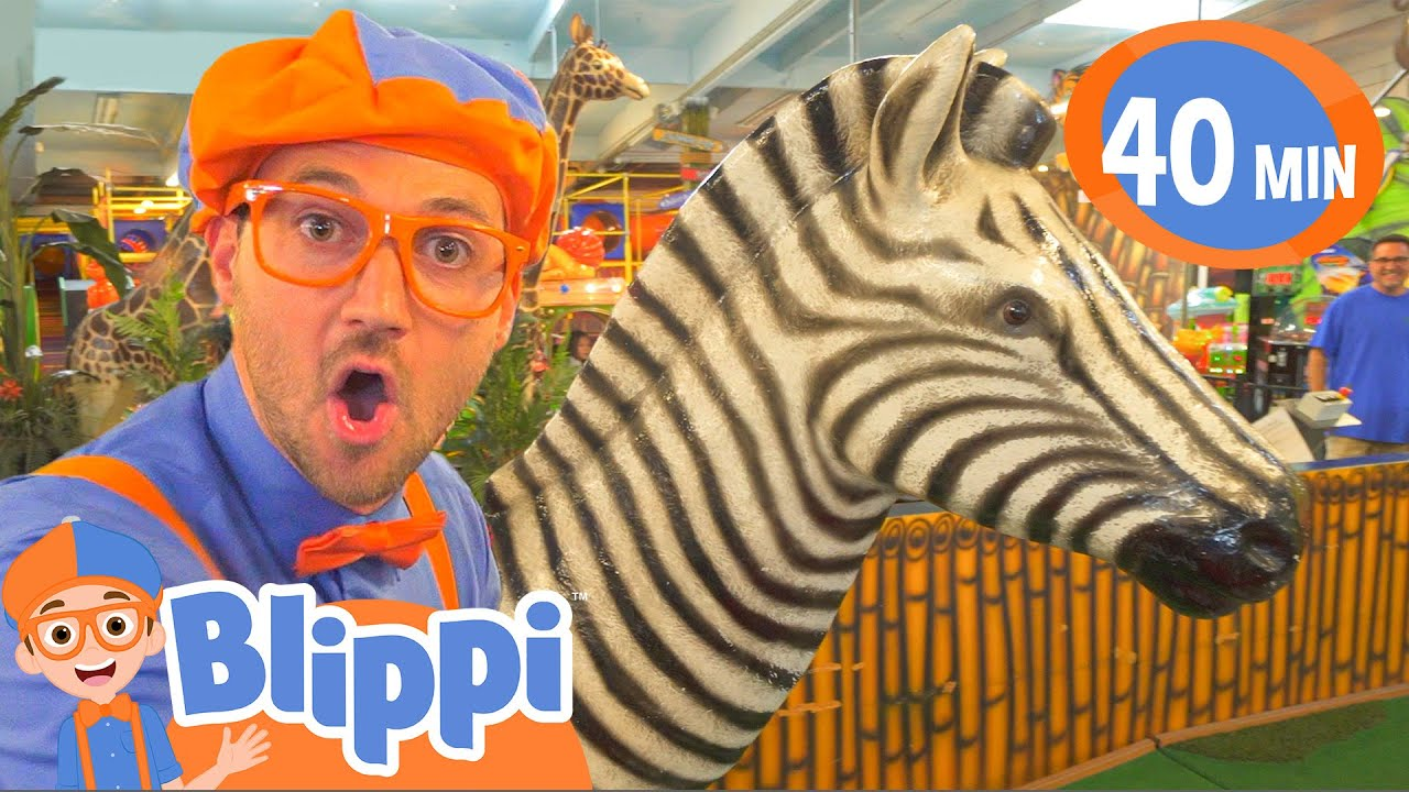 Download Blippi Learns Jungle Animals | Animals For Kids | Educational Videos For Children