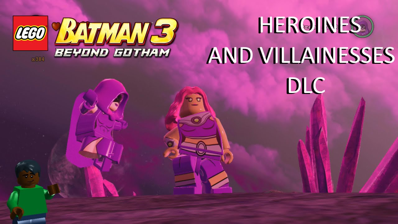 Lego Batman 3 Heroines And Villainesses Dlc Youtube