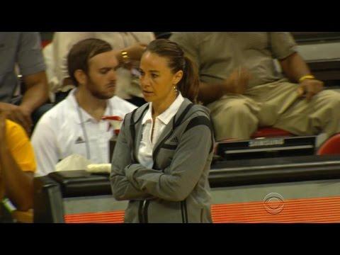 Becky Hammon, first female NBA coach, earns respect